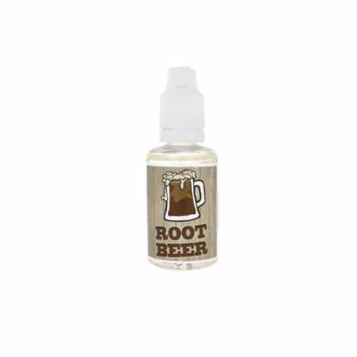 happyjuicen makutiiviste hyllyistä löytyy herkullista rootbeer makuainetta vampirevapelta.